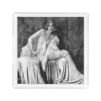 Ziegfield girl acrylic perfume tray