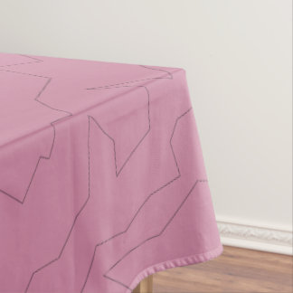 Zig River Outline Tablecloth
