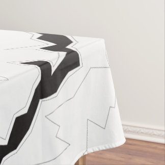 Zig River Stripe Tablecloth
