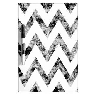 Zig saw Print - black prints blank Black White Dry Erase Whiteboard