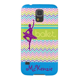 Zig Zag Ballet Cases For Galaxy S5