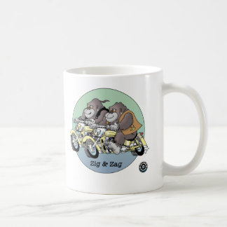 Zig & Zag - Bikers are Animals © Mug