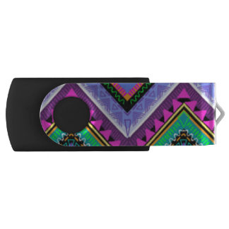 Zig Zag Colorful Pattern Print Design USB Flash Drive