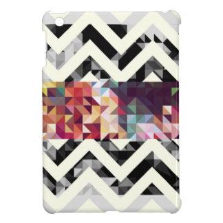 Zig zag Geometric Shapes Cover For The iPad Mini