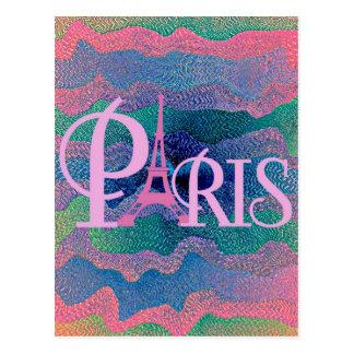 Zig Zag PARIS Postcard