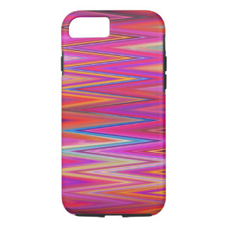 Zig Zag Pattern Abstract Design Colorful Chevron iPhone 7 Case