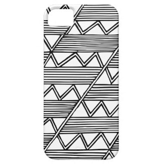 Zig Zag Pattern Barely There iPhone 5 Case
