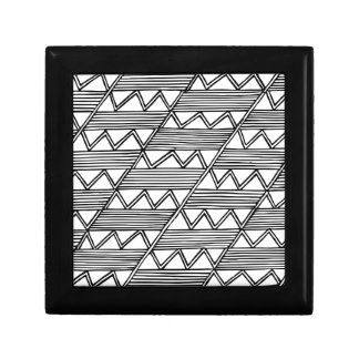 Zig Zag Pattern Gift Box