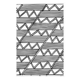 Zig Zag Pattern Stationery
