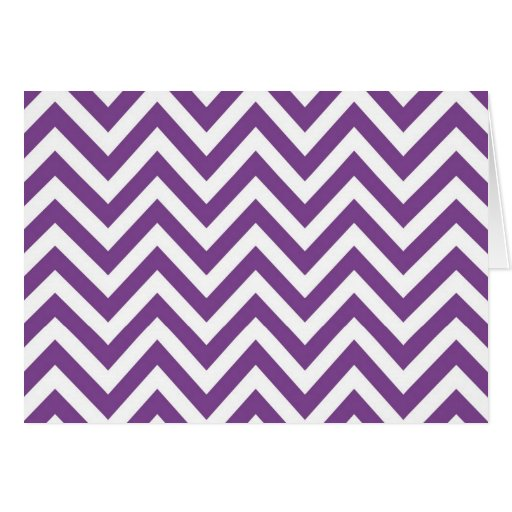 Zig Zag Purple and white striped Template Pattern Cards