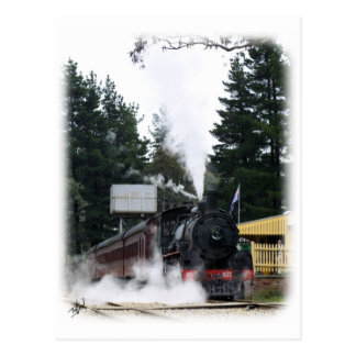 Zig Zag Railway Steam Locomotive 9J53D-21 Postcard