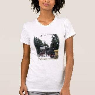Zig Zag Railway Steam Locomotive 9J53D-21 T-shirts