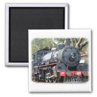 Zig Zag Railway Steam Locomotive 9J54D-01 Square Magnet