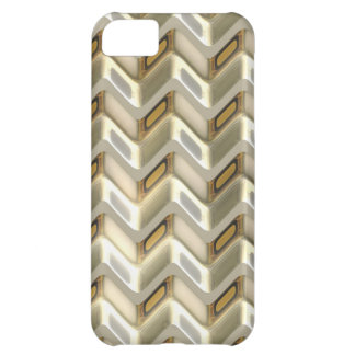 Zig Zag Shimmer iPhone 5C Case