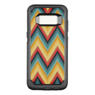 Zig Zag Striped Background 2 OtterBox Commuter Samsung Galaxy S8 Case