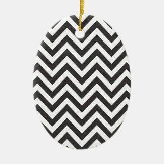 Zig Zag Striped Pattern Zazzle Template Background Ceramic Oval Decoration