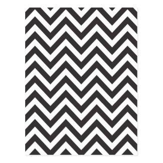 Zig Zag Striped Pattern Zazzle Template Background Postcard