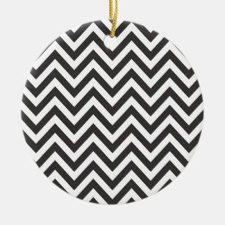 Zig Zag Striped Pattern Zazzle Template Background Round Ceramic Decoration