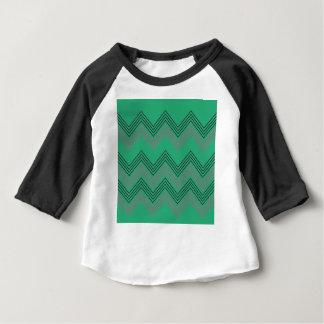 Zig zag vintage 50s stripes baby T-Shirt