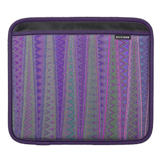 ZIG ZAGGING IN THE FOURTH UNIVERSE iPad SLEEVE