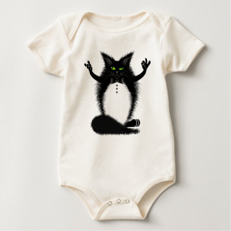 ZIGGY THE CAT BABY BODYSUIT