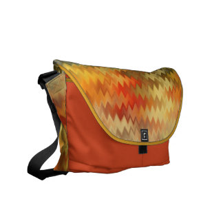 zIGzAg ABSTRACT ART BAG Courier Bag