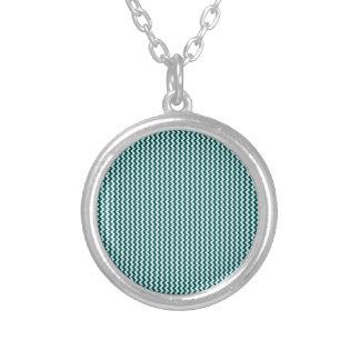 Zigzag - Celeste and Deep Jungle Green Custom Jewelry