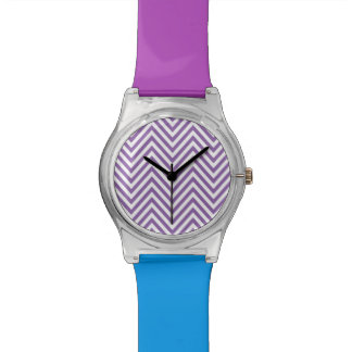 ZIGZAG | chevron white and any color Watches