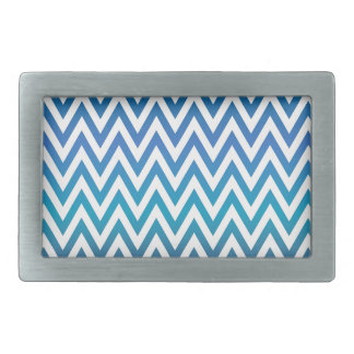 zigzag, colorful, funny, blue and green belt buckles
