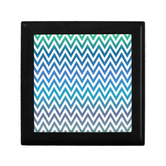 zigzag, colorful, funny, blue and green gift box