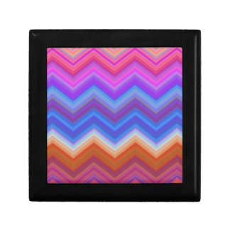 zigzag, colorful, funny gift box