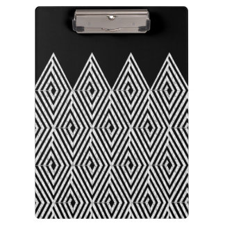 Zigzag Diamond Chevron Tribal pattern Clipboards