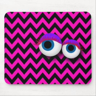 ZigZag eye Monster propellant-actuated device: Mouse Pad