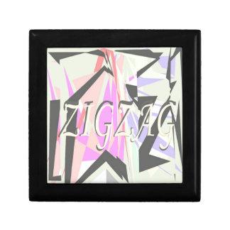zigzag gift box