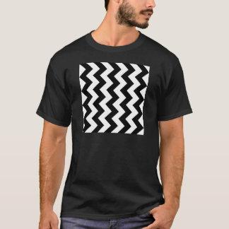 Zigzag I - Black and White T-Shirt