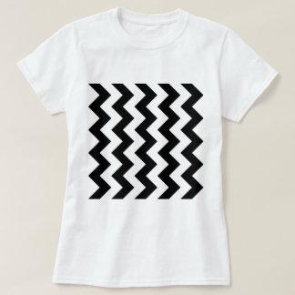 Zigzag I - Black and White Tshirts