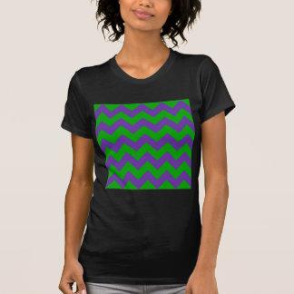 Zigzag I - Green and Violet Shirt