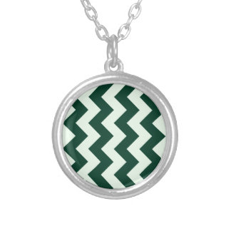 Zigzag I - Light Green and Dark Green Custom Jewelry