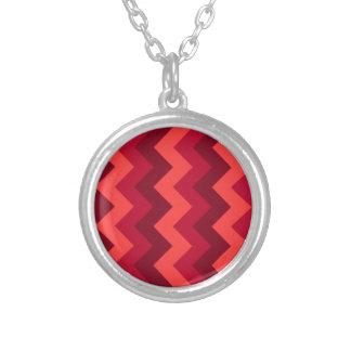 Zigzag I - Red 4 Pendant