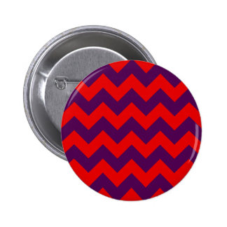 Zigzag I - Red and Violet Pin
