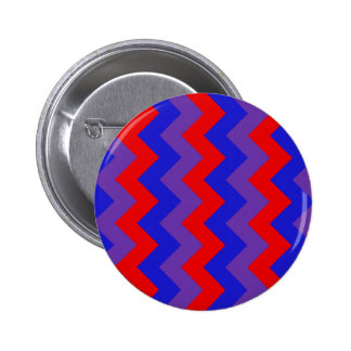 Zigzag I - Red, Blue, Violet Pin