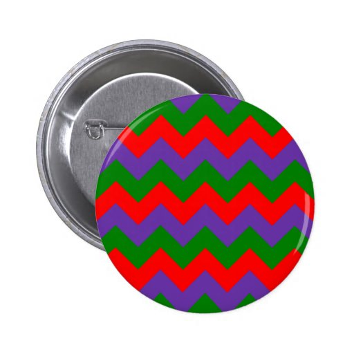 Zigzag I - Red, Green, Violet Buttons