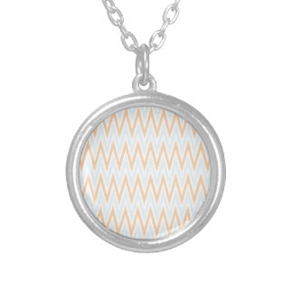 Zigzag I Silver Plated Necklace