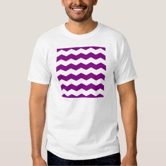 Zigzag II - White and Purple Shirts