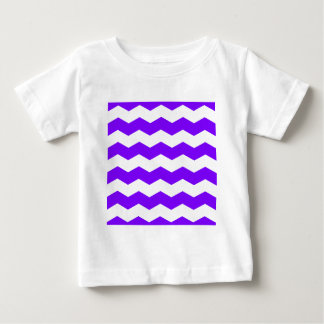 Zigzag II - White and Violet Shirts