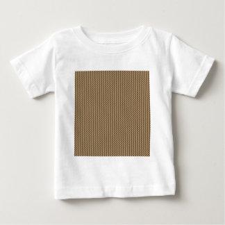 Zigzag - Khaki and Dark Brown T-shirts