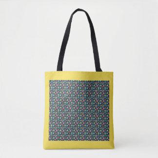 Zigzag Multicolor Tote Bag