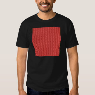 Zigzag - Pastel Red and Firebrick Tee Shirt