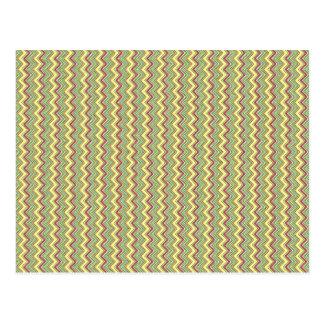 ZigZag pattern Post Card