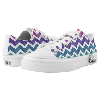 Zigzag Pattern Shoes